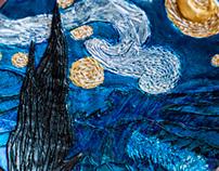 Van Gogh plate