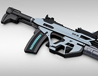 SAR 20 Concept Assault Rifle