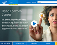 Intel RealSense Webpage and Video