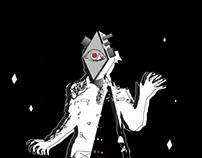 Rhombus man - Illustration