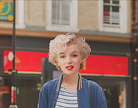 Oh, dear Marilyn, you look so casual!