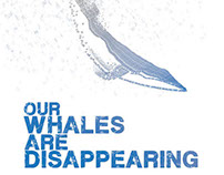 End Japanese Whaling Poster