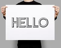 Hello Typeface