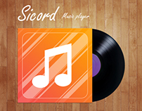 Sicord. Music player for iphone 5