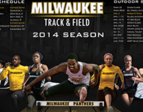 2013-14 Milwaukee Track Poster