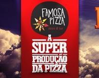 A superprodução da pizza