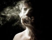 Flour selfportraits