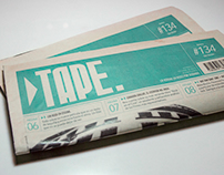 ▶ TAPE. // Newspaper