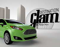 "Opening credits for the web series ""Destination Glam"""