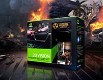Packaging + Visual Design - 3D Vision
