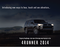 Introducing New 2014 4Runner