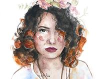 Retratos em Aquarela 2016