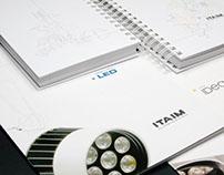 Itaim Iluminação - Branding e Editorial
