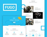 Fugo - Landing Page Design