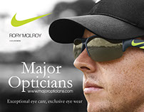 Nike Rory Advert for Major Opticians