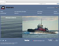 Website for Moran Towing Corporation