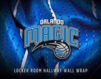 Orlando Magic Locker Room Hallway