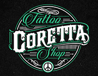 CORETTA Tattoo Shop / Branding