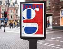 Poster Tipografico - Bodoni