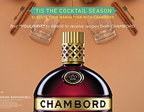 Chambord Cocktail Season Visuals