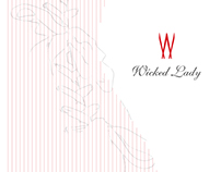 Wicked Lady Corsets Branding / Brochure / Postcards