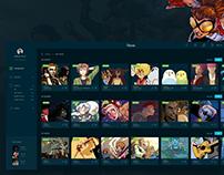 Web App. Comics
