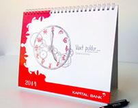 Kapital Bank Calendar-2014