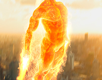 Human Torch - Concept