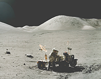 APOLLO ARCHIVE stitched panoramic photographs