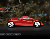 Car Repair Dynamic Flash Template