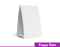 Table tents design