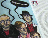 Maximo Park for Rolling Stone Magazine