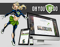 Oh You Hero -Responsive Web Design