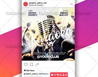 Karaoke Night – Animated Flyer PSD Template