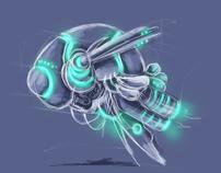 Space Ship Concept Design (Aspergion Game)