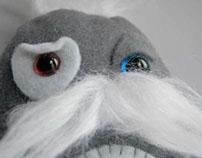 Moustached Plush