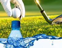 Dasani - Golf Poster