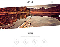 Case / Parallax One-Page