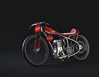 Jawa 500cc Speedway Bike Cafe Racer