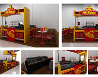 Kiosk & Logo Design: Mr. Taco