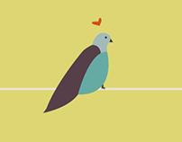 Les oiseaux — Illustration