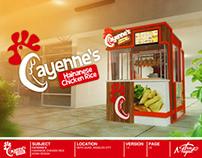 Kiosk & Logo Design: Cayenne