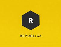 Republica - Corporate Wordpress Theme PSD