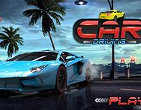 Car Driving Game UI