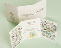 Wedding invitation for Weronika&Lukasz