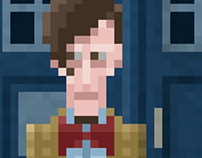 Doctor Who Pixel Style