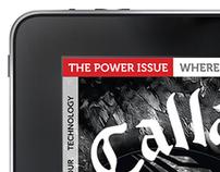 Callaway – iPad magazine concepts