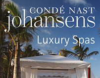 2014 Conde Nast Johansens Luxury Spas cover