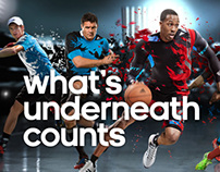 adidas - techfit collection microsite