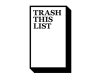 Trash This List